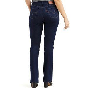 Levi's Curvy Bootcut Mid Rise Jeans 8 Long 29x32